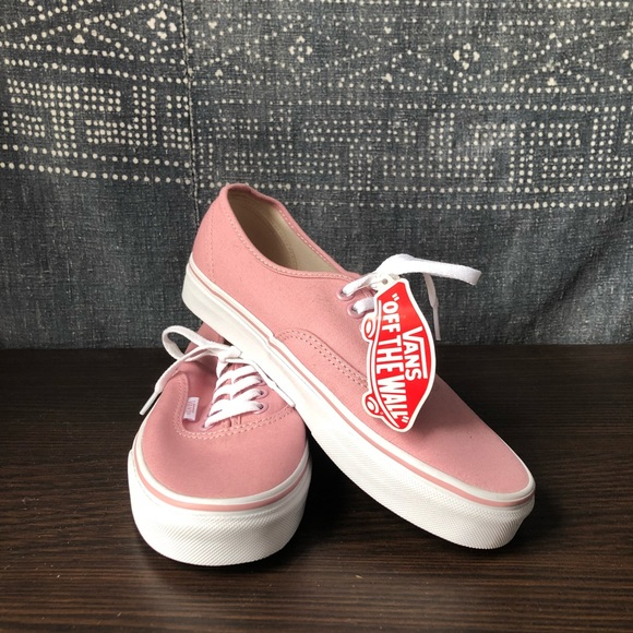 c1b61e7187 Vans Authentic in Pink NWT